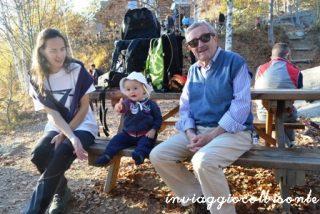 Con mamma ed il nonno Mario