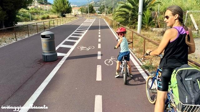 Pista ciclabile Riviera dei Fiori