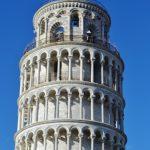 La cima della Torre di Pisa