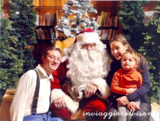 Abbiamo incontrato Babbo Natale!