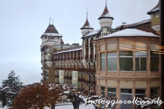La casa di Babbo Natale a Caux
