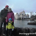 Foto di gruppo al Castello di Chillon