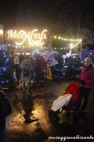 L'ingresso dei Mercatini di Natale di Montreux