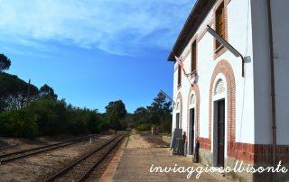 La stazione abbandonata di Arzachena