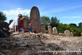 Autoscatto al Parco Archeologico di Arzachena