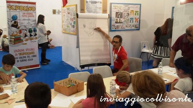 Salone del Libro di Torino con i bambini: stand Topolino