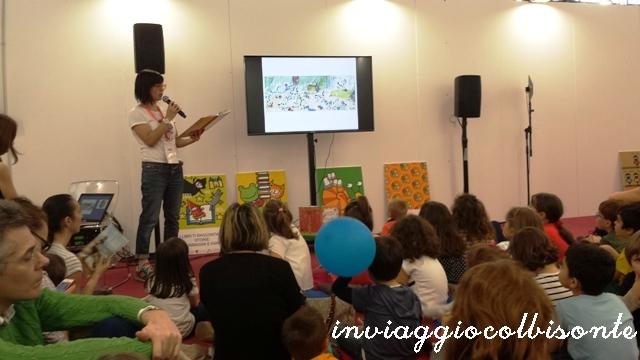 Salone del Libro di Torino con i bambini: Racconto fiabe