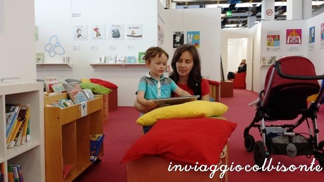 Salone del Libro di Torino con i bambini: nati per leggere