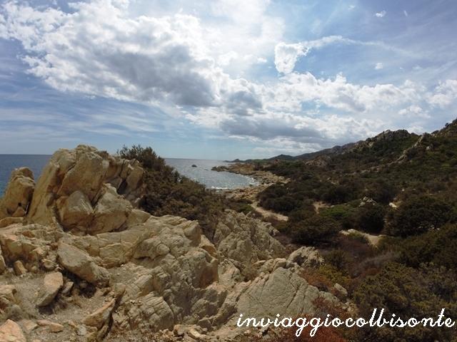 Sulle orme di Grazia Deledda - Panorama da Capo Comino 2