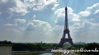 Un pomeriggio a Parigi: la Tour Eiffel vista dal Trocadero