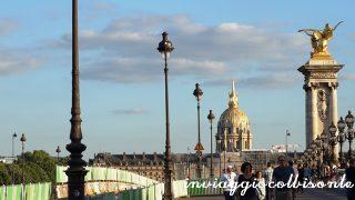 Un pomeriggio a Parigi: tramonto a les invalides