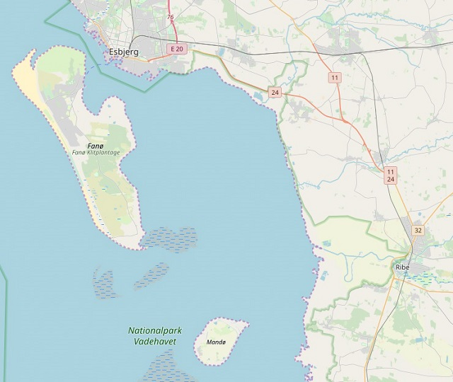 Isole di Fano e Mando