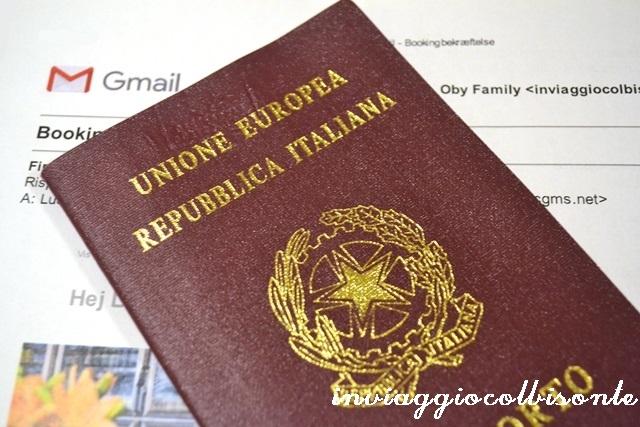 Il bagaglio a mano perfetto - documenti e valori