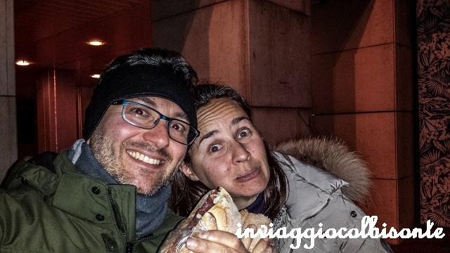 Capodanno a Montecarlo con i bambini - Cena sulla panchina