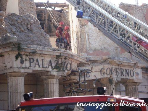 Sisma l'Aquila 6 Aprile 2009 – Fiero di aver contribuito