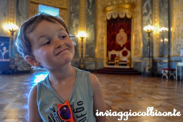 Sei giorni a copenhagen e dintorni con i bambini - christiansborg sala del trono