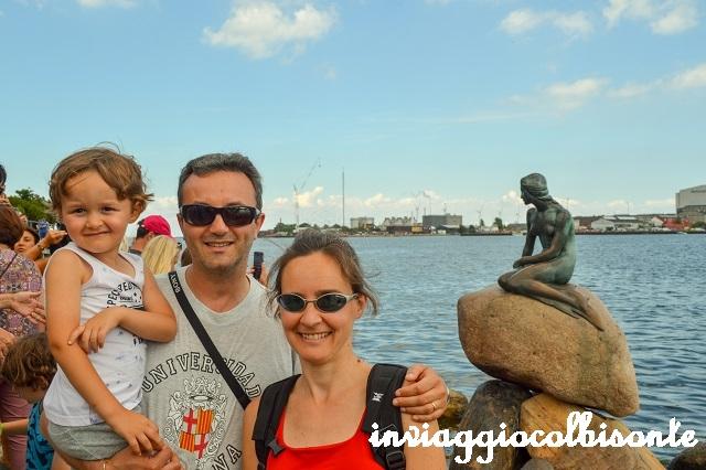 Sei giorni a copenhagen e dintorni con i bambini - la sirenetta e noi