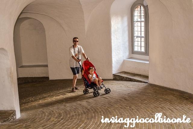 Sei giorni a copenhagen e dintorni con i bambini - Rundetaarn la torre rotonda