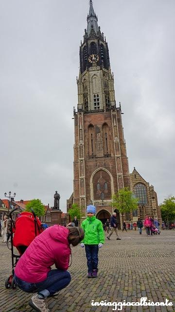 Itinerario in Olanda Family Friendly Delft Nieuwe Kerk