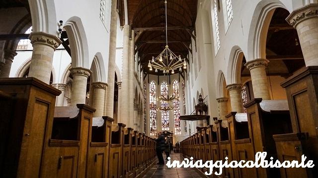 Itinerario in Olanda Family Friendly Delft Oude Kerk