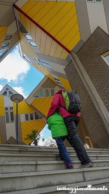 Itinerario in Olanda Family Friendly Rotterdam Case Cubo