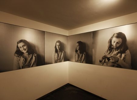La casa di Anna Frank ad Amsterdam con i bambini