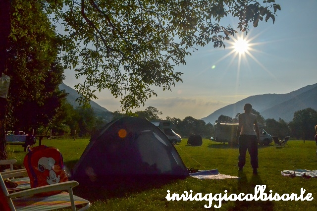 Prima Notte In Tenda