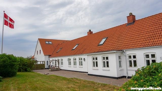 la struttura dove abbiamo trascorso le nostre vacanze in fattoria in Danimarca
