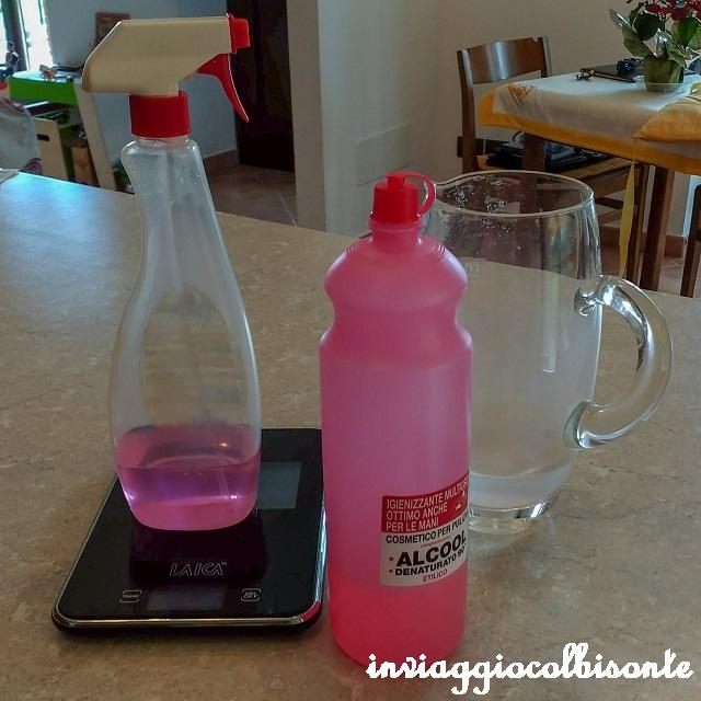 coronavirus soluzione idro-alcolica