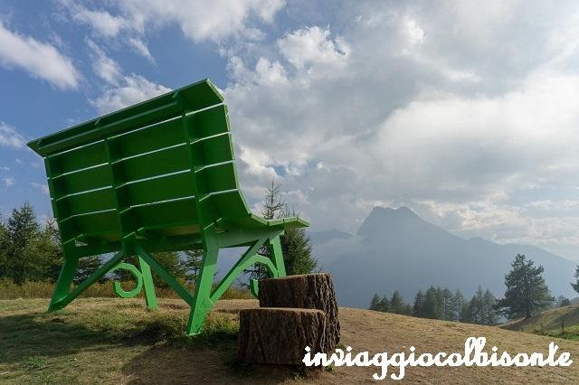 Panchine giganti in provincia di Torino