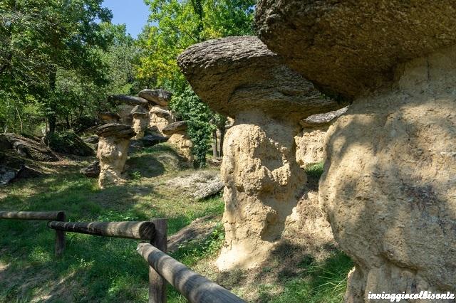 """Riserva Naturale dei """"Ciciu del Villar"""", un bosco fatato"""