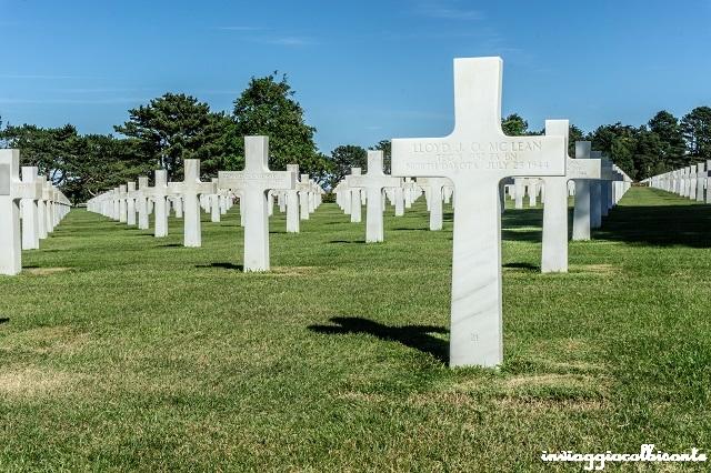 Bretagna e Normandia in camper Cimitero Americano