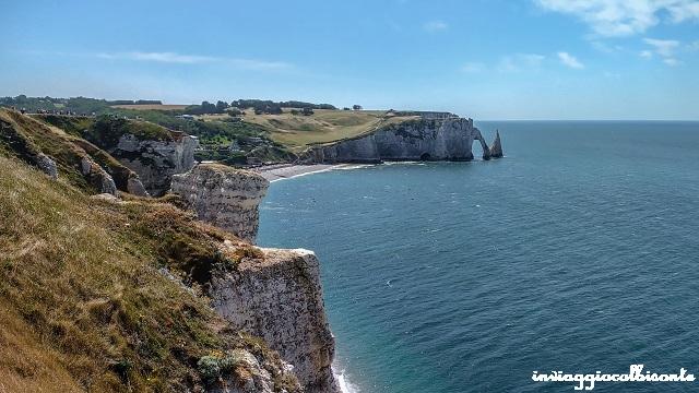 Bretagna e Normandia in camper Etretat