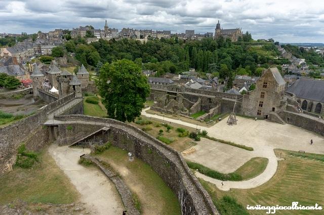 Bretagna e Normandia in camper Castello di Fougeres