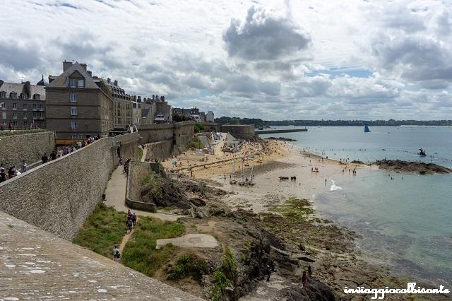 Bretagna e Normandia in camper Saint-Malo