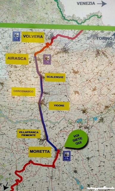 Ciclabile Airasca-Moretta