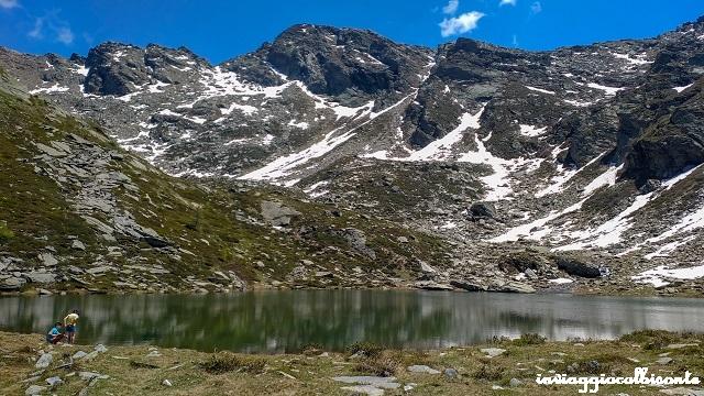 Rocca Bianca e Lago d'Envie lago